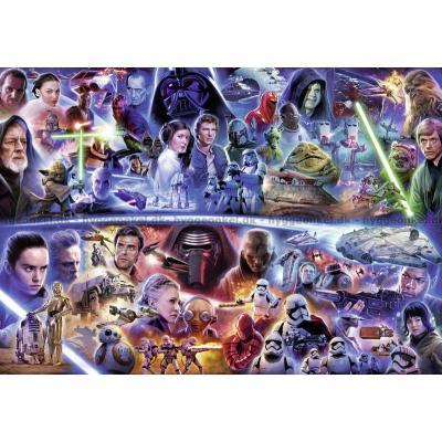 Star Wars: Galaktisk tidsrejse, 18000 brikker puslespil!