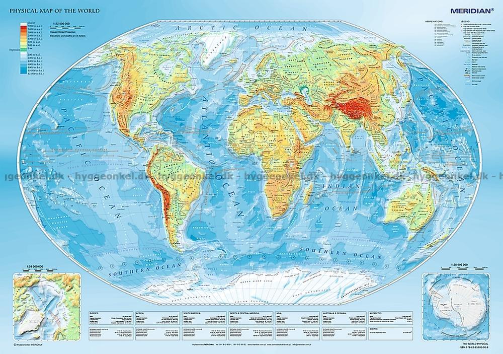 Kob Kort Over Verden 1000 Brikker Fragt 25 Kr
