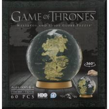 3D Globe: Game of Thrones - Westeros and Essos, 60 brikker