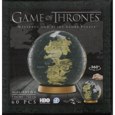Billede af 3D Globe: Game of Thrones - Westeros and Essos, 60 brikker