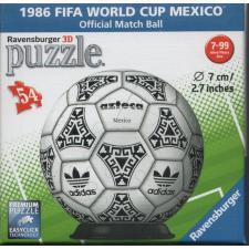 3D Bold: 1986 FIFA World Cup Mexico, 54 brikker