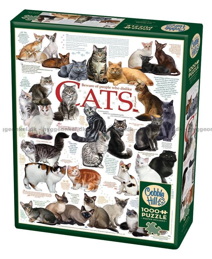 1000 citater Køb Citater: Katte, 1000 brikker billigt. 1000 citater
