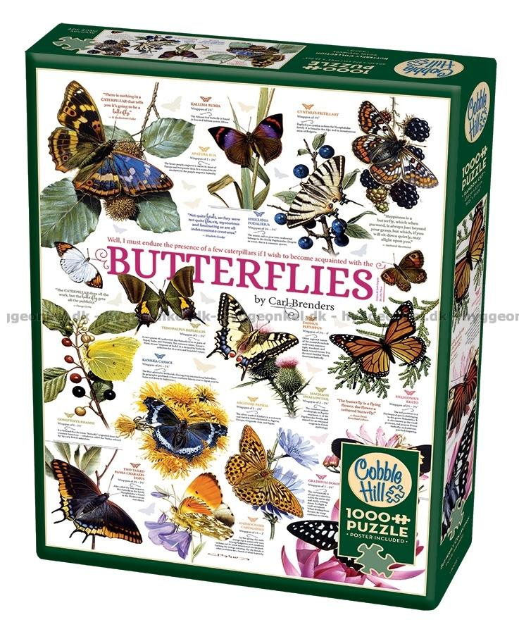1000 citater Her kan du købe Citater: Sommerfugle, 1000 brikker! 1000 citater