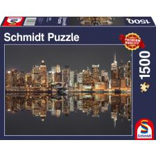 Frank: New York skyline ved aftentide, 1500 brikker