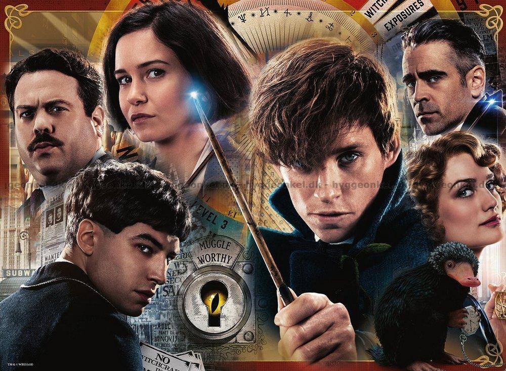 Kob Rowling Fantastiske Skabninger 300 Brikker