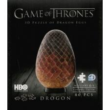 3D: Game of Thrones - Dragon Eggs Drogon, 80 brikker