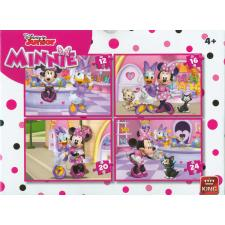 Disney: Minnie Mouse, 4 i 1, 12 brikker