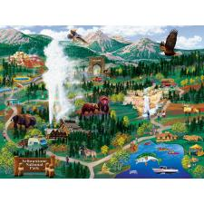 Burgess: Yellowstone National Park, 500 brikker