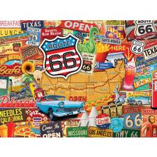 Route 66: Collage, 550 brikker