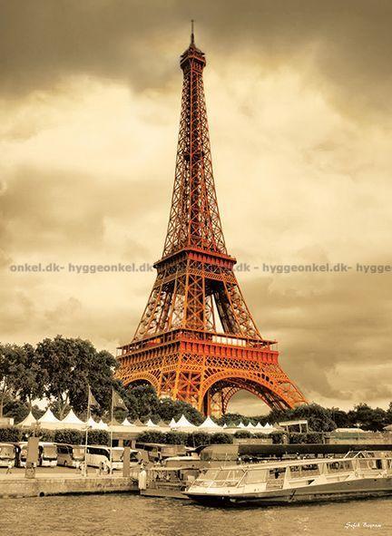 Bayram: Eiffeltårnet, Paris, 1000 brikker → Køb det her.