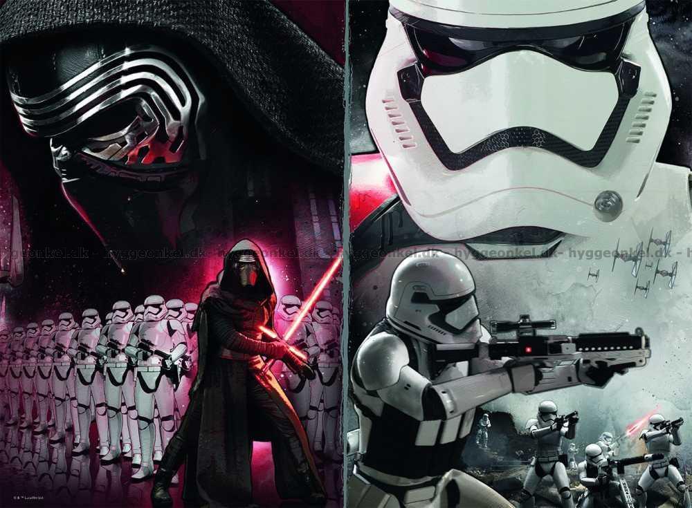Star Wars VII, 200 brikker → Køb det her.