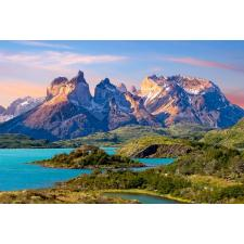 Torres del Paine, Patagonia i Chile, 1500 brikker