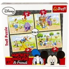Disney: Mickey Mouse, 4 i 1, 35 brikker