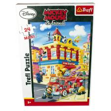 Disney: Mickey Mouse - Brandstationen, 24 brikker