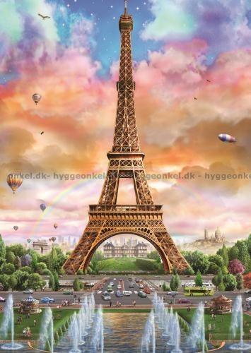Køb Eiffeltårnet, Paris, 500 brikker billigt på nettet.