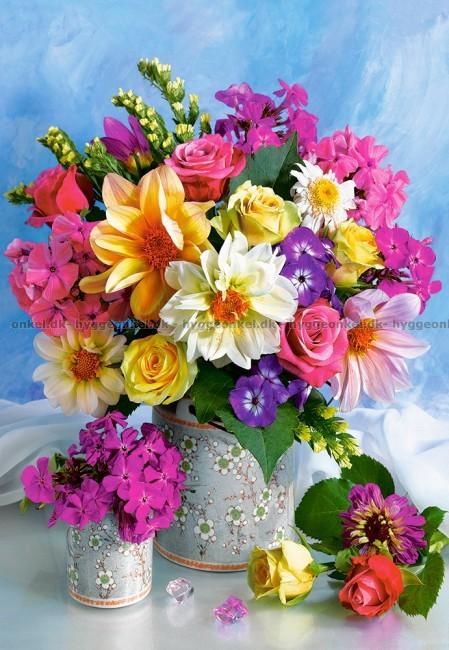 Lækker Køb Blomster buket, 1500 brikker billigt. YJ-99