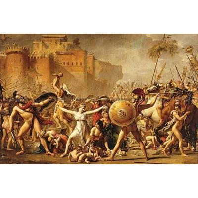 Billede af Davis: The Intervention of the Sabine Women, 3000 brikker