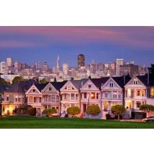 Painted Ladies, San Francisco, 1500 brikker