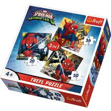 Spiderman, 3 i 1, 20 brikker
