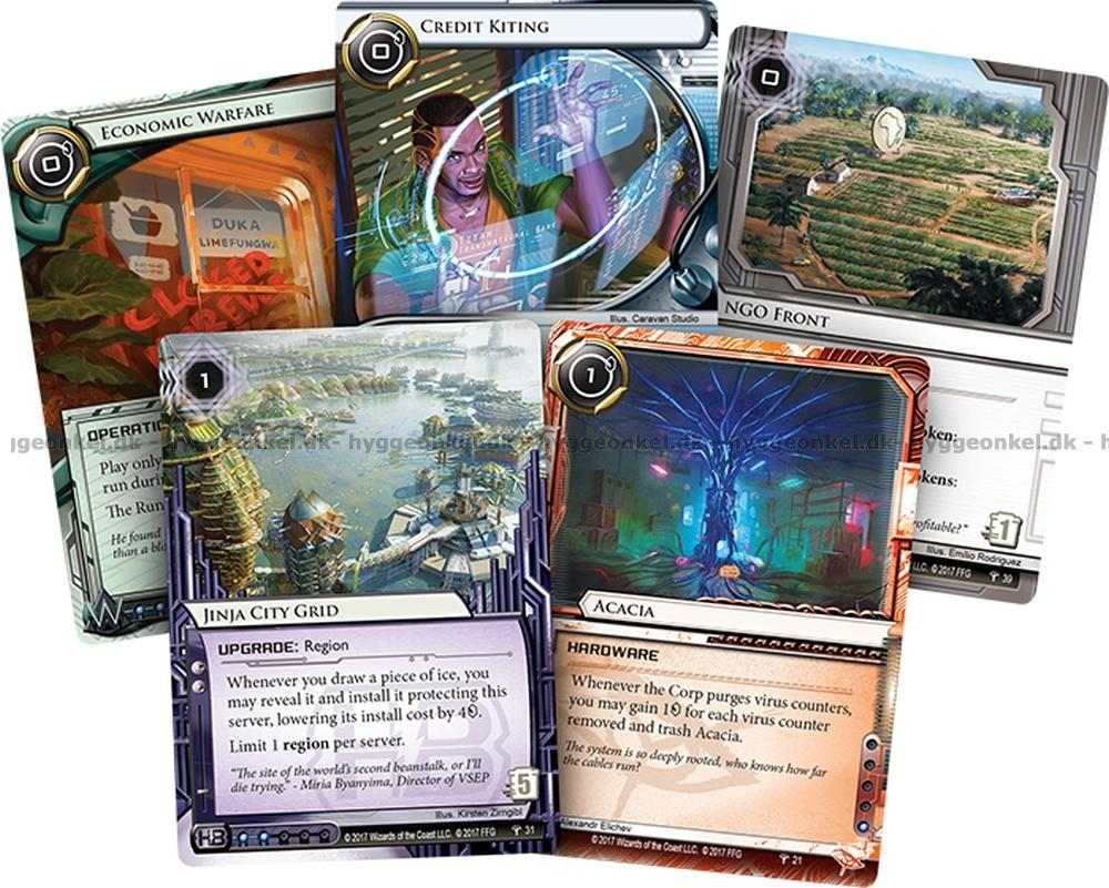 Android: Netrunner – A Study in Static - teamboardgame.com