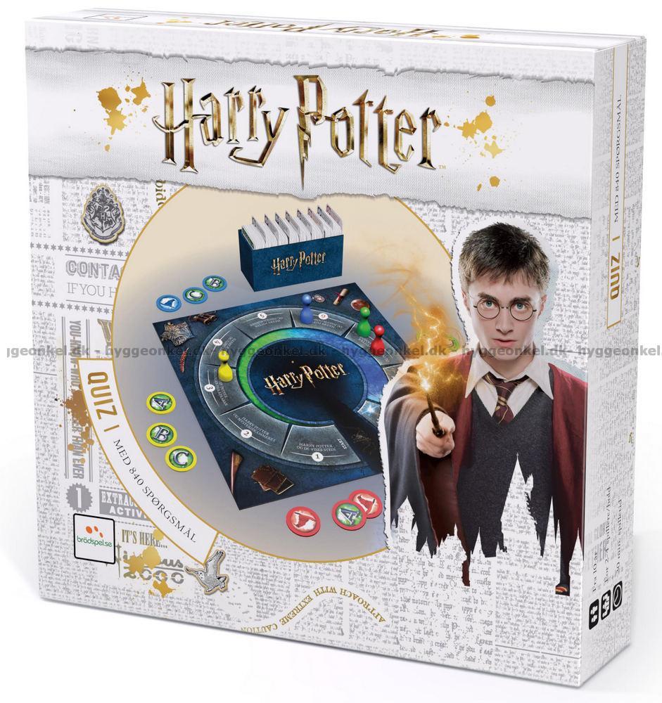 Harry Potter: Quiz → Køb Det Billigt I Dag