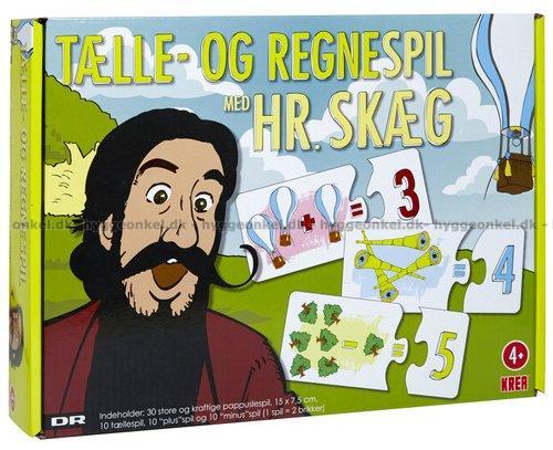 Køb Hr. Skæg: Tælle- og regnespil hos Hyggeonkel.