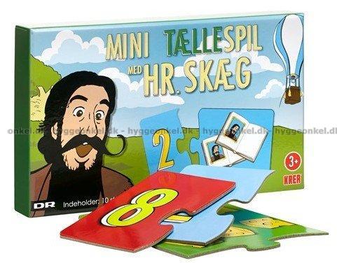 Hr. Skæg: Mini Tællespil → Køb det billigt her.