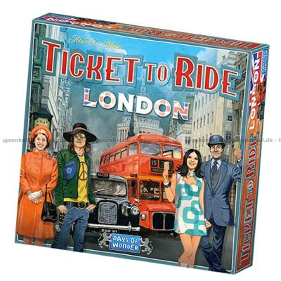 Billede af Ticket to Ride: London