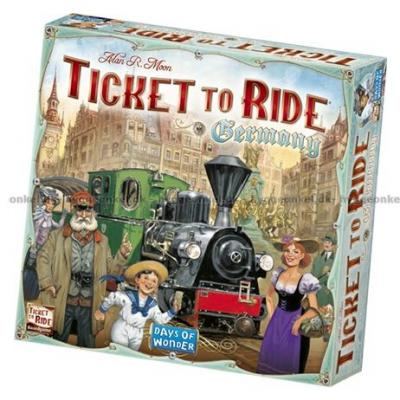 Billede af Ticket to Ride: Germany