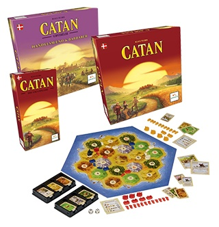 Her finder du hele Settlers of Catan-serien